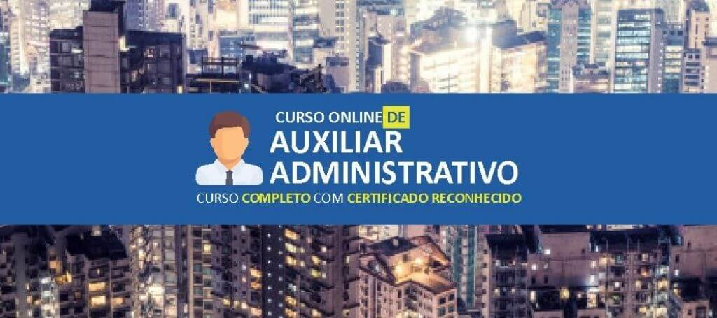 Cursos online de auxiliar administrativo