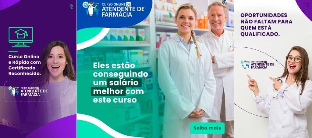 curso completo de atendente de farmácia